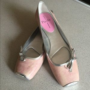 Lines Paola pink flats